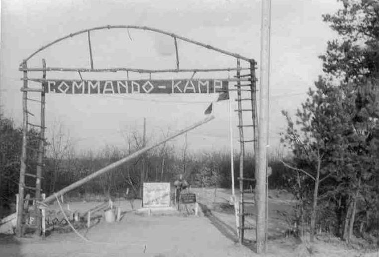 Het commando kamp eind jaren '56